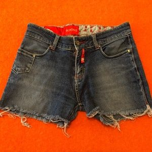 *3for$30* Ecko Red denim shorts GUC